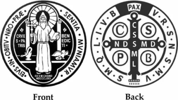 Description of St Benedict medal