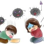ノロウイルスが変異で大流行の恐れ!症状や予防、対策、処理の仕方は?