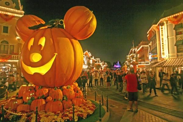 ディズニー ハロウィン かぼちゃ