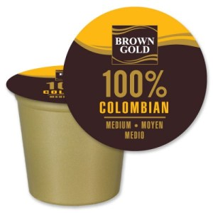 Brown Gold 100% Colombian (24 Pack)