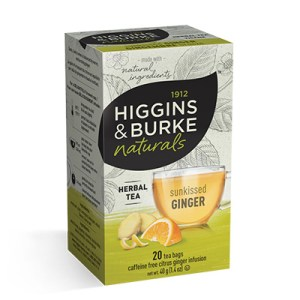 Higgins and Burke Sunkissed Ginger Tea