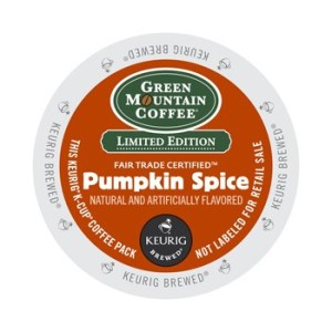 Green Mountain Pumpkin Spice SEASONAL (24 Pack)