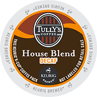 Tully's House Blend Decaf (24 Pack)