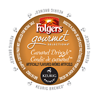 Folgers Caramel Drizzle (24 Pack)