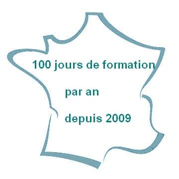 100 jours de formation en France tous les ans
