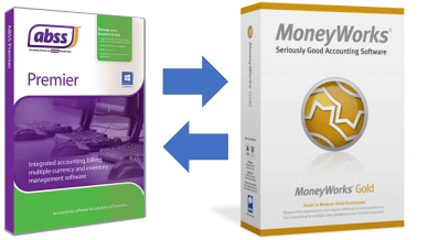 Moneyworks - ABSS change over