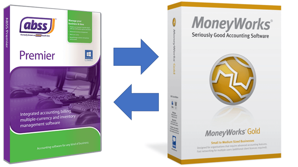 Moneyworks - ABSS change accounting software