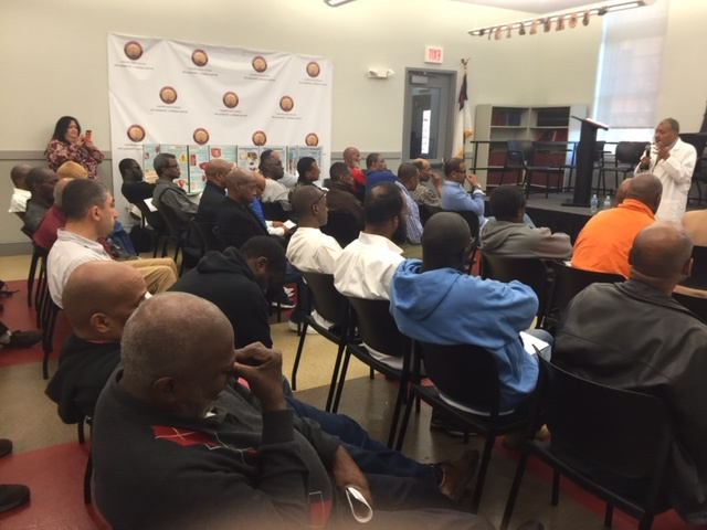 AMCS Information Session on Prostate Cancer at Central Union Mission