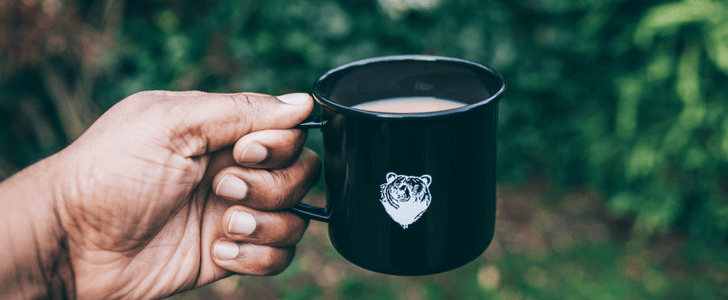 fairtrade tea, printed mug