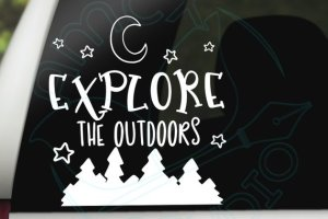 Explore the outdoors Whimsical