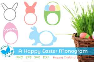 Easter Monogram Mini Bundle