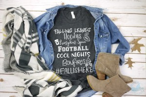 Fall is here – Cozy Graphic Tee