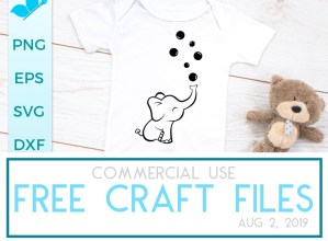FREE Craft Files August 2, 2019