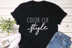 Color Cut Style  – Hairstylist shirt
