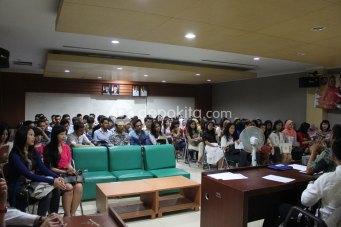Suasana technical meeting Pemilihan Abang & Mpok Depok 2012