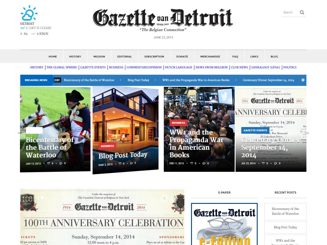 Gazette van Detroit