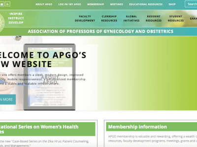 APGO's new website photo