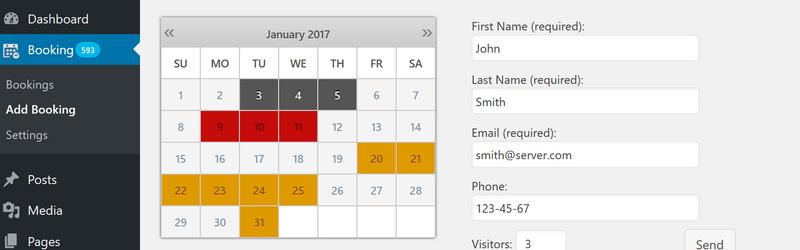 booking calendar plugin logo