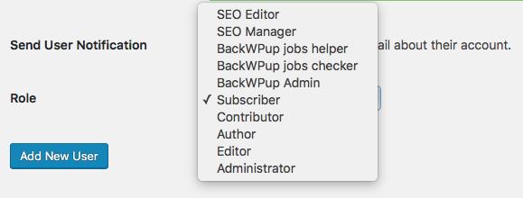 additional roles through plugin integration