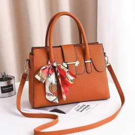 Brown Colored Tote Handbag