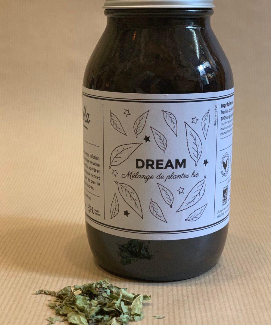 ÂME BORDEAUX, DREAM 40GR - GREENMA, THES, INFUSIONS, DIGEST, DETOX, THE NOIR, DREAM