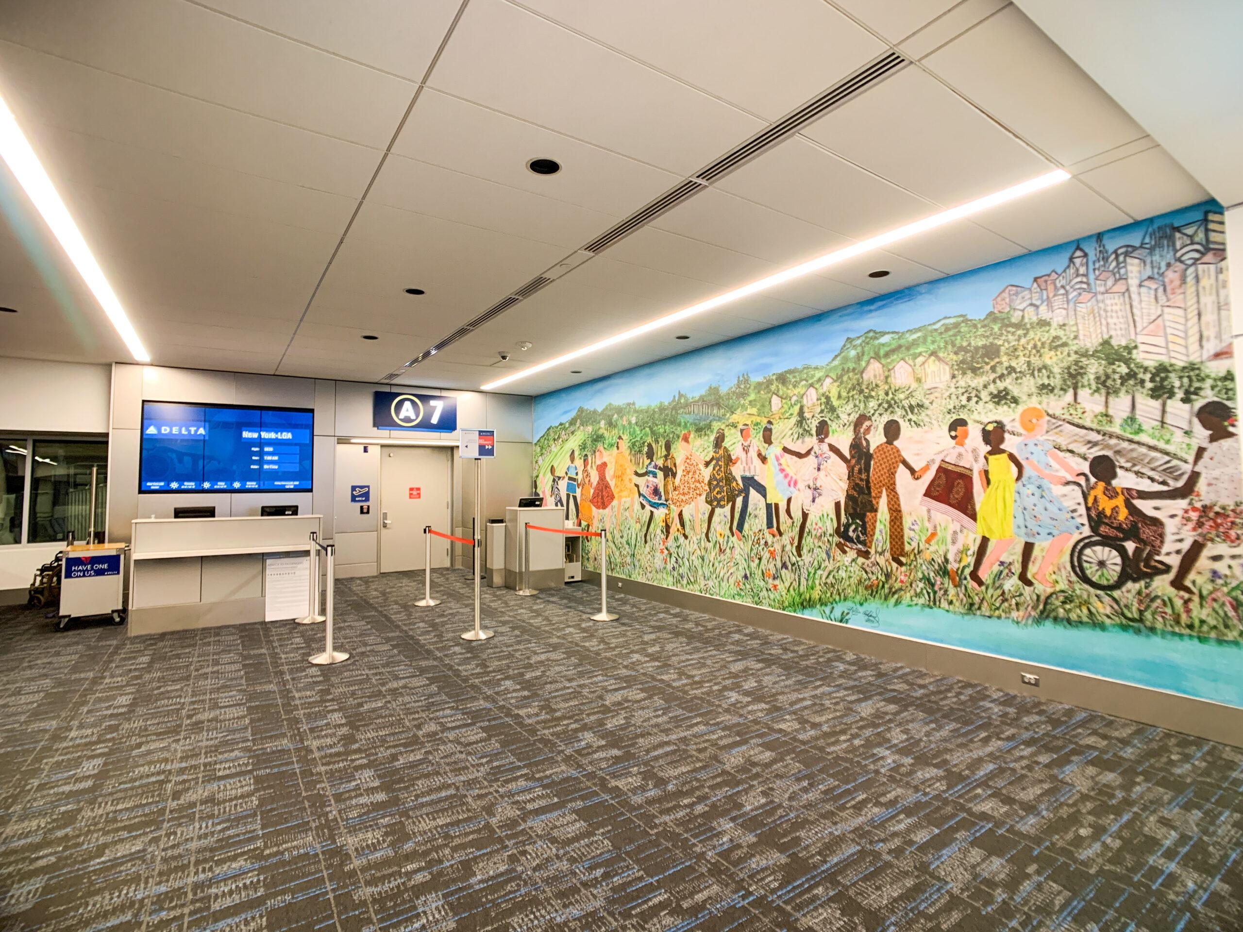 Charlotte Douglas Airport Gate