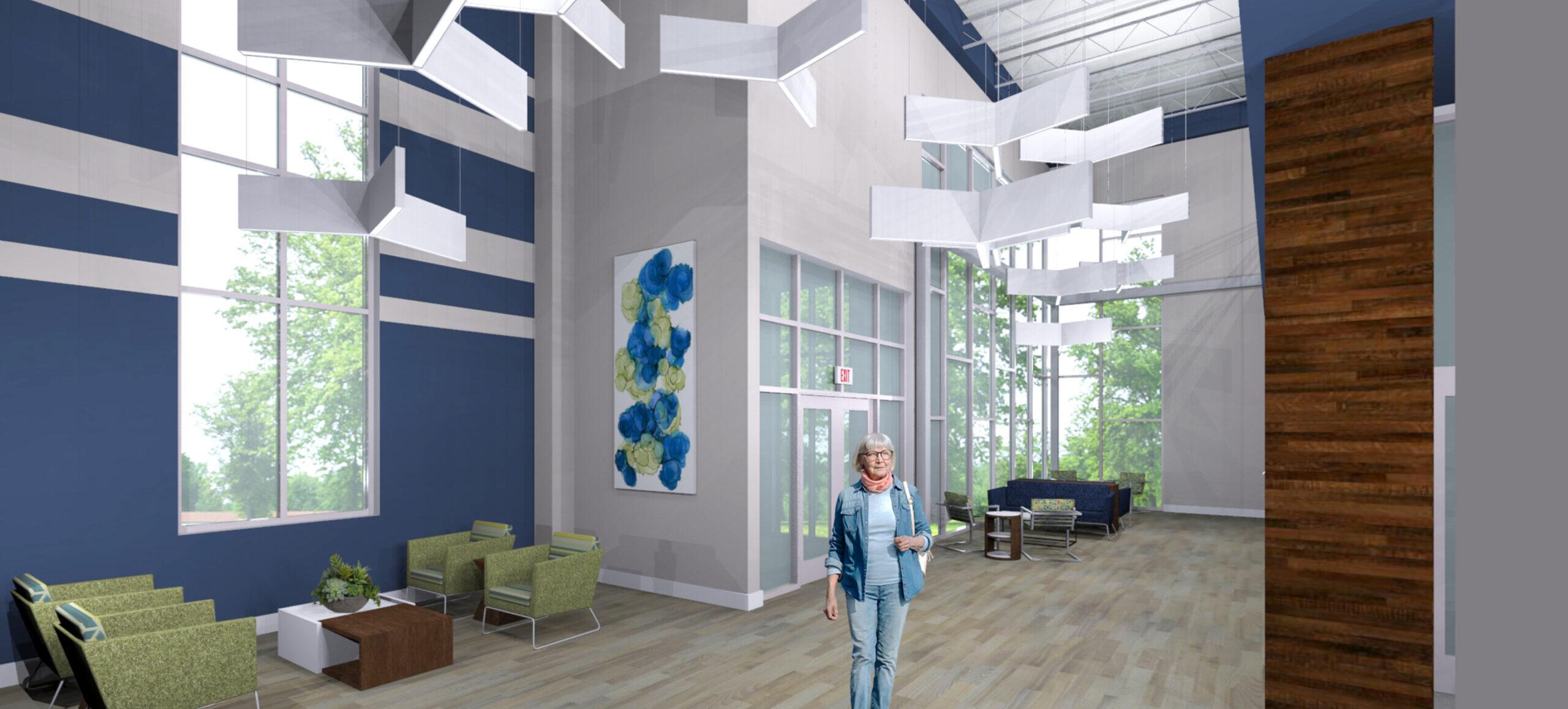 Glenaire Wellness Center Entry