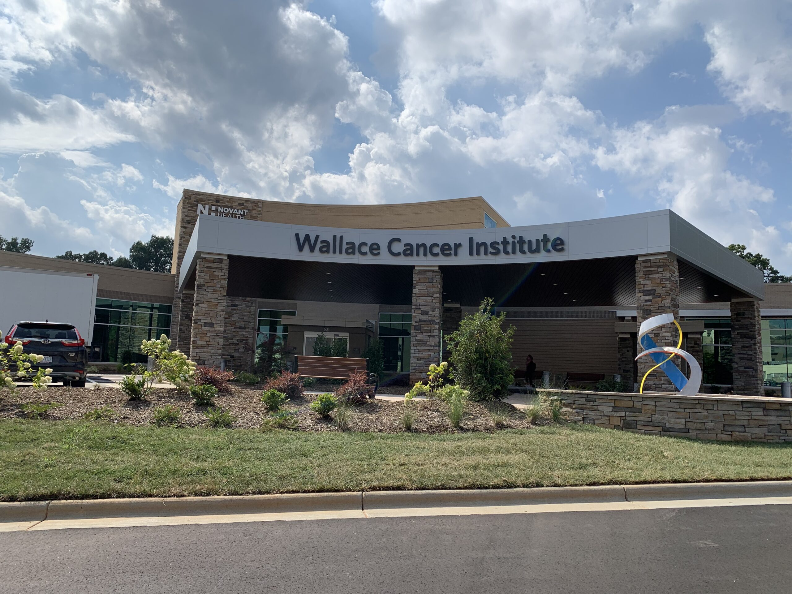 Exterior of Wallace Cancer Institute