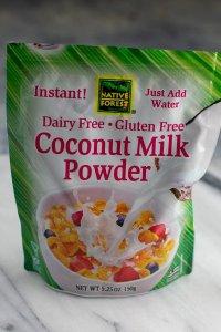coconut milk powder used in creamy avocado lime guac dressing