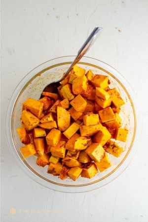 savory squash for roasted butternut squash breakfast hash bowl