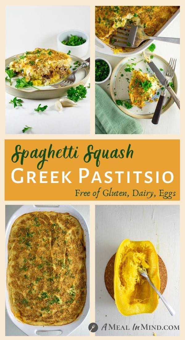 Spaghetti Squash Greek Pastitsio