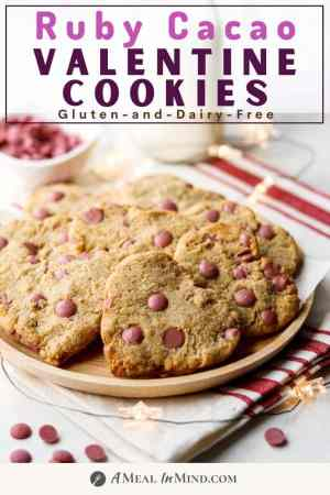 ruby chocolate chip cookies pinterest image