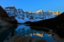 Moraine Lake and the Ten Peaks