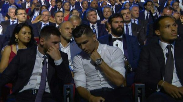 """""""I Want To Have Dinner With Messi!"""" - Cristiano Ronaldo (Video, Photos)"""