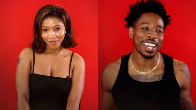 BBNaija 2019: Ike And Mercy Caught Making Out Under The Duvet (Video)