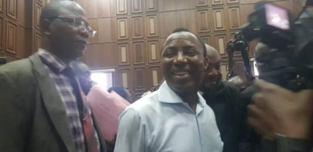 Sowore Appears In Court For The First Time Since Arrest (Photos)