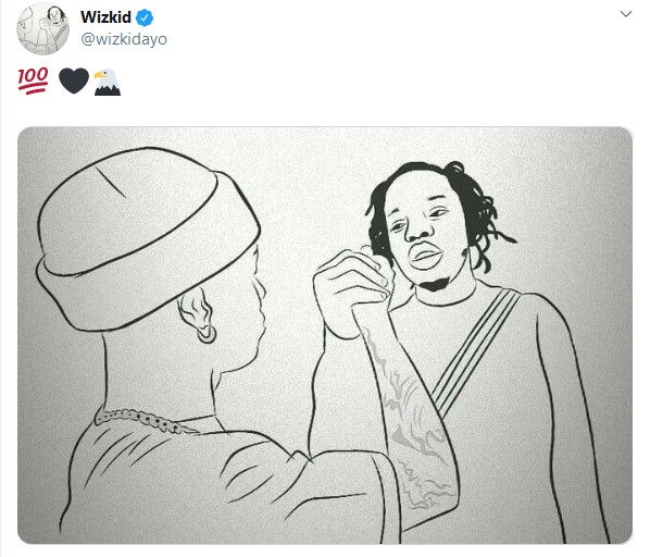 Marlians For Life – Wizkid Declares, Shares Picture With Naira Marley