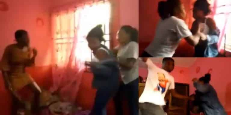 300 Level 'School Father' and 4 Other Students Beat Up a 100 Level Female student For 'Running Her Mouth'