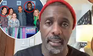 Idris Elba suggests he contracted COVID-19 from Sophie Trudeau