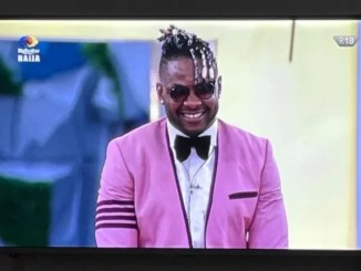#BBNaijaFinale - Cross becomes third finalist to be evicted