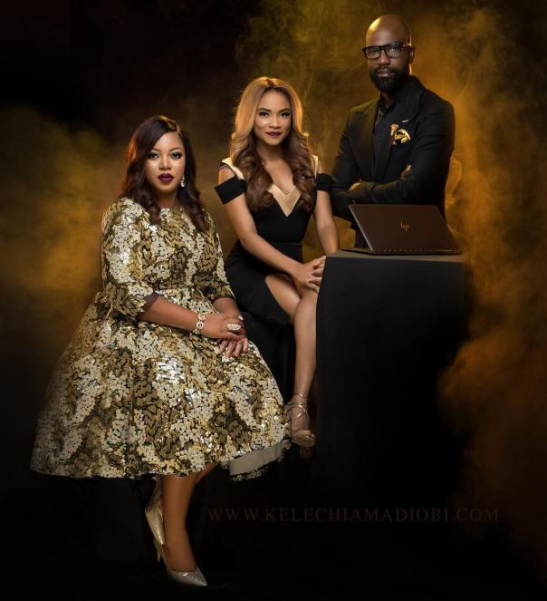 Ify Afe, Toju Foyeh and Mai Atafo give so much love to HP