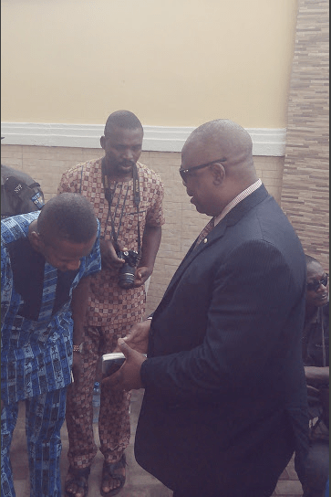 Nollywood Star Bob-Manuel Udokwu Buries His Father