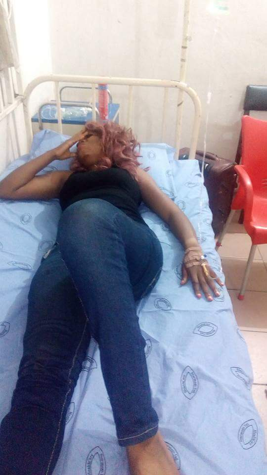 Nollywood Actress Jewel Infinity Cries Out For Help After Allegedly Being Violently Brutalized By Soldier Sulaiman Olamilekan