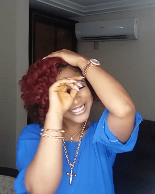 Tonto Dikeh Dancing Without Wedding Ring Amidst Marriage Troubles