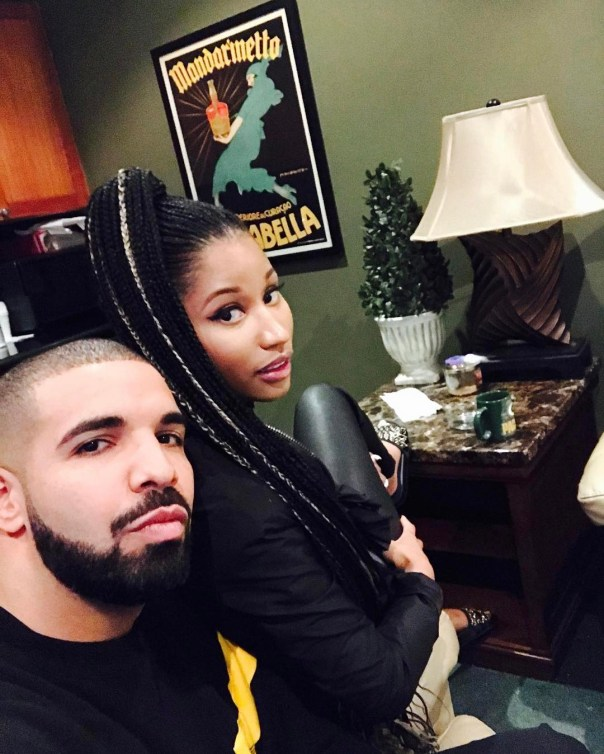 Drake And Nicki Minaj Reunion Photo
