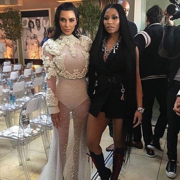 Nicki Minaj And Kim Kardashian Have Joined Forces Against Mariah Carey