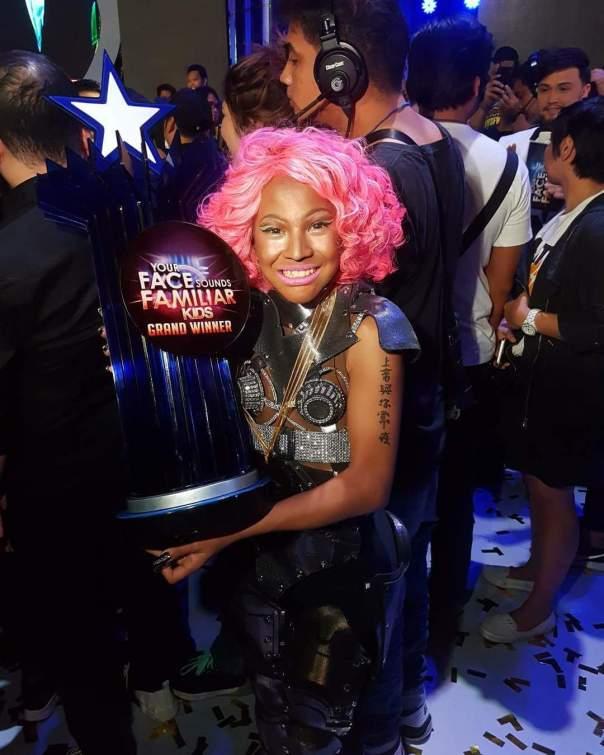 Teen Boy Who Transformed Into Nicki Minaj On Your Face Sounds Familiar Kids Talent Show 4