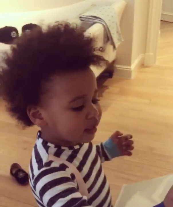 Mikel Obi Shares Adorable Video Of His Daughter Uttering Her First Words 2