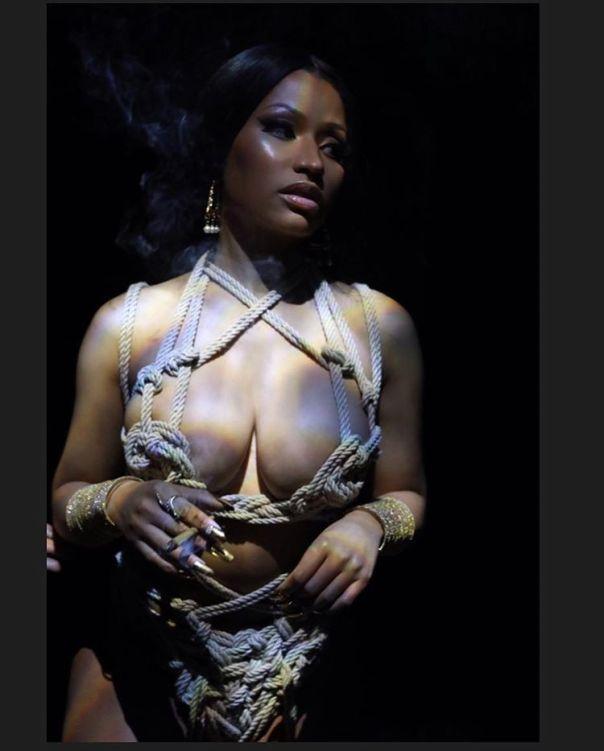 Nicki Minaj Rope Bikini 2