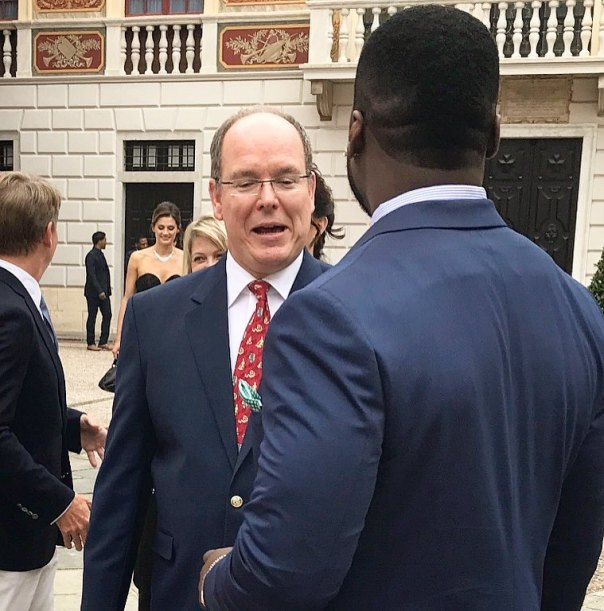 50 Cent Pictured With Prince Albert of Monaco And Princess Charlene of Monaco (1)